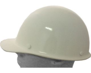 NEW MSA Skullguard Cap style hard hat, White Skullgard hardhat #475396