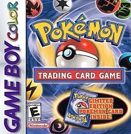 POKEMON TRADING CARD GAME   GAME BOY COLOR ADVANCE SP