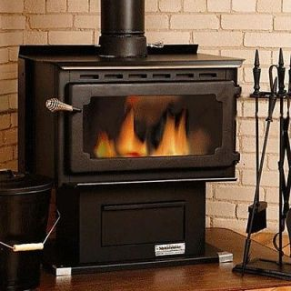 Vogelzang Mountaineer Wood Burning Stove with Blower   VG650ELG