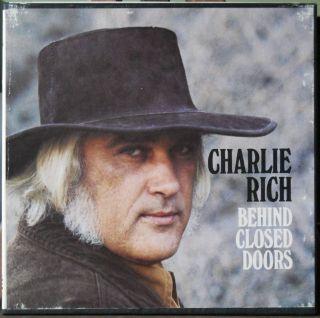CHARLIE RICH / BEHIND CLOSE DOORS REEL TO REEL TAPE
