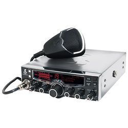 Cobra – 29LX CB Radio with Chrome Case, NOAA Weather & 4 Color LCD