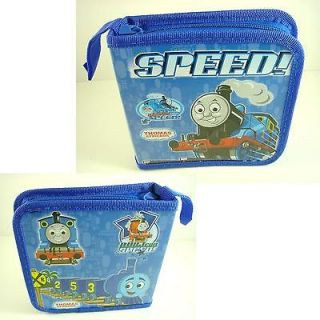 Thomas & Friends Blue 40 pcs CD VCD DVD PSP UMD Storage Case Holder