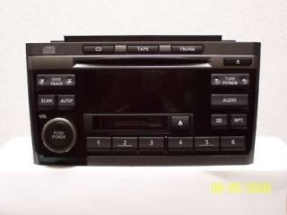 2002 2003 NISSAN MAXIMA RADIO CD PLAYER CN090