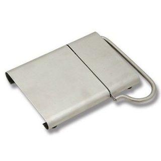 RSVP Cheese Slicer Cutter Planer Endurance Stainless Steel Mushroom