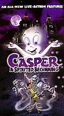 Casper A Spirited Beginning (VHS, 1997)