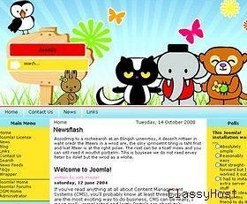 Newly listed Animals, Pets, Birds, Cats, Dogs Joomla Business Website
