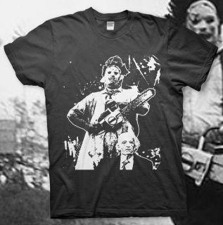 TEXAS CHAINSAW MASSACRE   High Quality Cotton T Shirt HORROR Cult