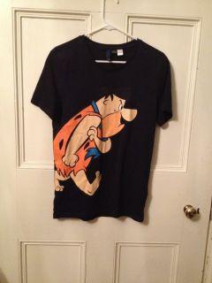 Flintstones Shirt H&M Divided Fred Flintstone Hanna Barbera T Shirt