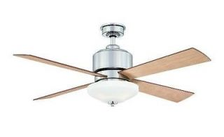 Hampton Bay Alida 52 Ceiling Fan with Light Kit & Remote Control