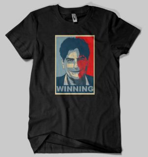 charlie sheen t shirt