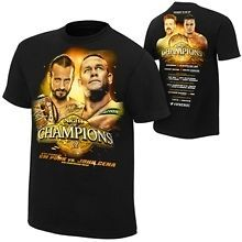 20% OFF CHARITY SALE WWE Night Of Champions 2012 XL T Shirt john cena