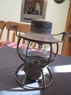Vintage New York Central System (Dressel) railroad lantern ( Pat