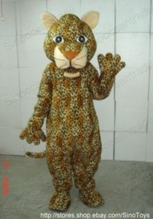 LEOPARD PANTHER CHEETAH CATAMOUNT ADULT MASCOT COSTUME