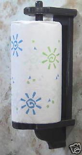 wooden paper towel holder in Kitchen, Dining & Bar