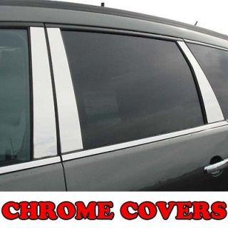 Chevy Impala 06 12 CHROME Pillar Covers Scratch resistant