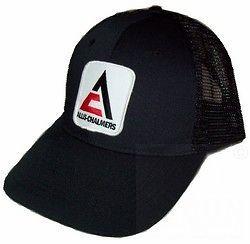 Allis Chalmers New Logo Tractor Black Mesh Hat Cap Gift