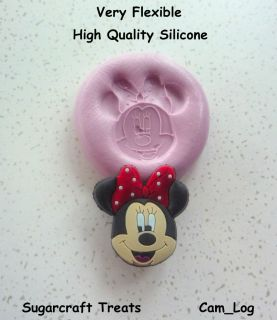 Minnie Mouse Silicone Mould Sugarcraft, Cake Decorating,Cra fts,Fimo