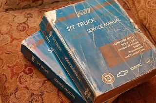 1997 Chevy Truck ST S/T Blazer Jimmy Service Manual Set Cheap shipping