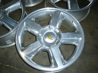 Chevy Silverado Tahoe Suburban Avalanche polished alloy wheel rim 1500