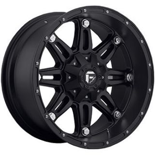 Fuel Hostage Wheels 6x135 6x5.5  44 Lifted CHEVROLET TAHOE COLORADO