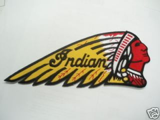 Indian Motorcycle Jacket Patch   Head Dress