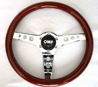 OMP MUGELLO vintage style steering wheel 35cm Fine wood