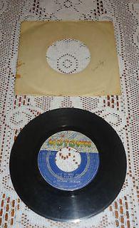 Michael Jackson   Vinyl 45 Record (Rockin Robin) (Love Is Here & Now