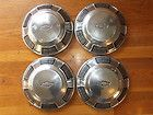 Buyer Gets 4 Vintage Ford Dog Dish Hub Caps 1967 1968 1969 Use Display
