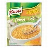 Pack   Knorr Chicken Soup MIx Noodles 3.5 oz (100 g) Sopa Pollo y