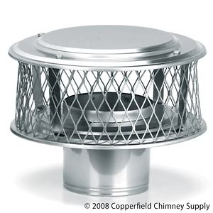 Chimney 13868 HomeSaver Guardian 9 in. 304 Alloy Stainless Steel