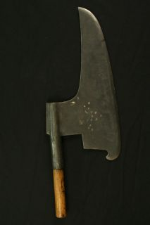 Circa 1700s Antique Corinthian Long Broad Axe