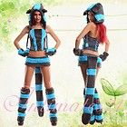 Deluxe Hand made Furry Cheshire Cat Costume Costume Full Set Carnival