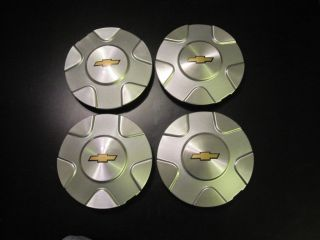 Chevy Trailblazer wheel center caps hubcaps 2002 2003 set of 4 four