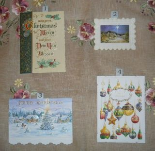 Carol Wilson Christmas Cards   Various Designs   Sold as Boxed Sets