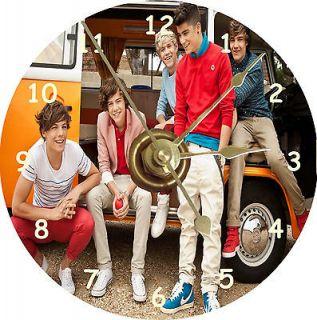 NEW One Direction Boy Band Van CD Clock