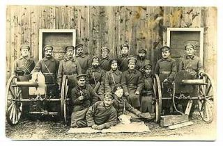 Russian WWI Civil War Soldiers with Machine Guns, Gas Mask, Binocular