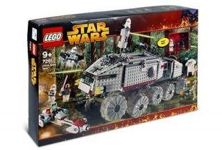Lego Star Wars #7261 Clone Turbo Tank New MISB