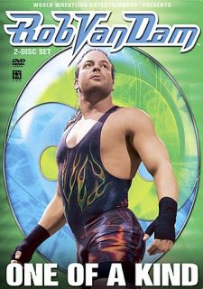 Newly listed WWE   Rob Van Dam One of a Kind (DVD, 2005, 2 Disc Set)