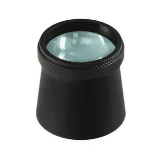High Clarity 6X Printers Magnifying Loupe Large 30mm Lens Aluminum