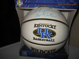 Newly listed KENTUCKY WILDCAT BASKETBALL SIGNED BY COACH TUBBY SMITH.