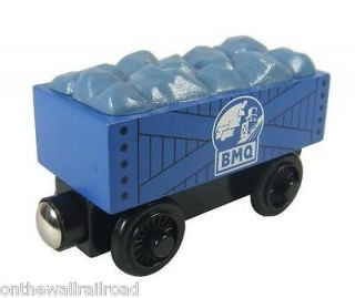 New GRAVEL ROCK CAR Blue Mountain Quarry Thomas Tank Engine Wooden