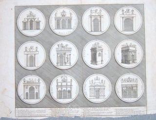 Santi Bartoli (Italian) Coins / Julius Caesar/ Claudius / ancient Rome