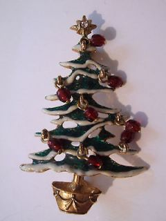 Avon Collectible Christmas Tree Pin