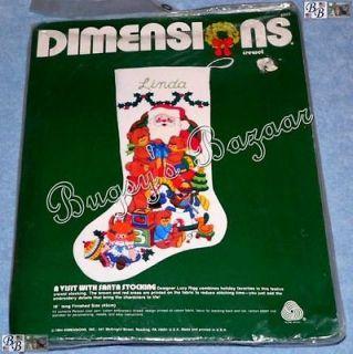 dimensions crewel christmas stocking kits
