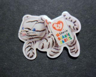 McDonalds TY T eenie Beanie Babies White Tiger Crew Pin