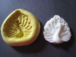 Bird Animal Silicone Mold Gumpaste Fondant Cake Chocolate clay #162