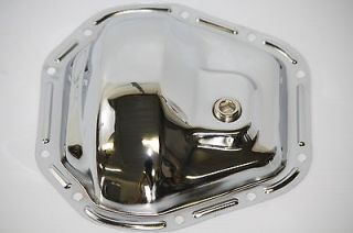 Chrome Steel Dana 60 Rear End / Front End 10 Bolt Differential Cover