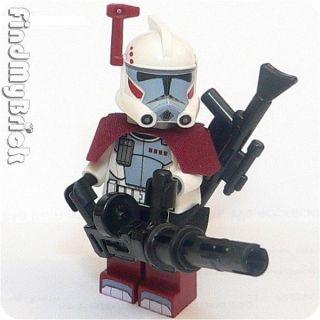 SW185FG Lego Star Wars ARC Elite Clone Trooper Minifigure & 2 Blasters