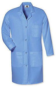 Lab/Shop Coat Red Kap 5 Button Medium Blue KP14MP