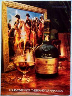 Vintage 1979 Courvoisier VSOP Cognac Magazine Ad The Brandy of